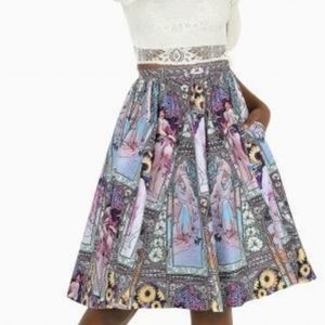 Blackmilk Mucha Pocket Midi Skirt